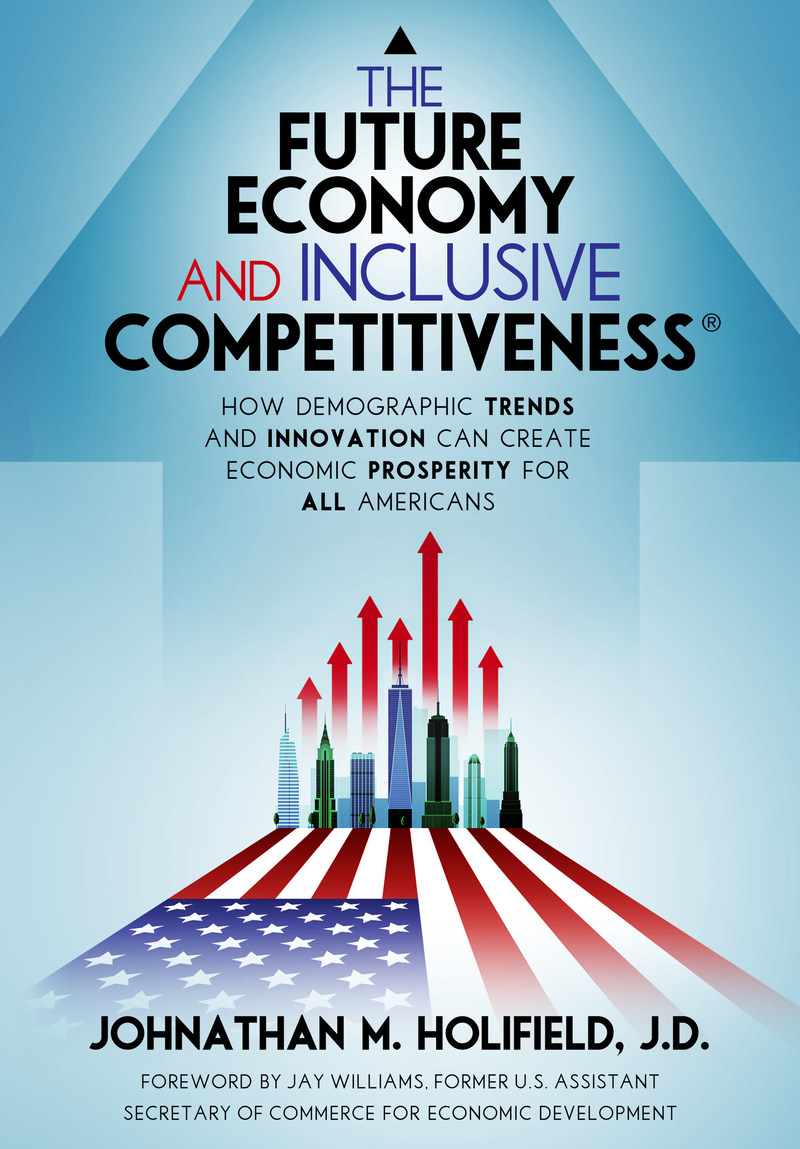 Book cover for The Future Economy and Inclusive Competitiveness.
