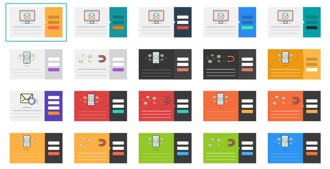 100+ Form Templates for the most beautiful Pop-up Forms