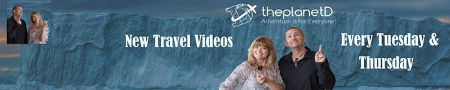Dave and Deb of ThePlanetD upload weekly videos showcasing their adventures and travels around the world. Videos range from telling stories and giving information on the destinations they visit to highlighting beautiful imagery with drone footage and interesting camera angles. But most of all, Dave and Deb have fun and show case their personalities each week!