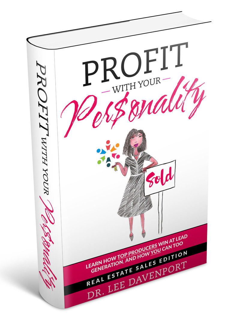 YOU were born an ORIGINAL - Don't die a COPY! Snag the book, PROFIT WITH YOUR PERSONALITY, on Amazon.com (https://a.co/fgTcOcm) to see how top producers win in real estate sales, and how you can too.