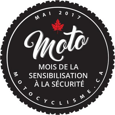 Logo du mois de la sensibilisation à la sécurité (Groupe CNW/Motorcyclists Confederation of Canada (MCC))