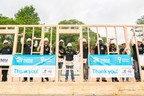 Football legends team up with Habitat for Humanity and Nissan to build