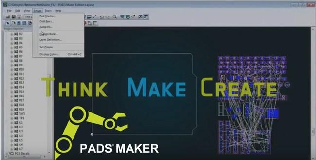 Mentor PADS Maker