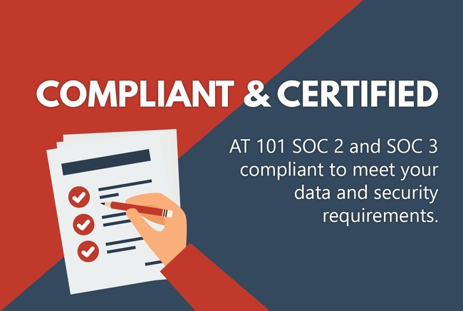 Canadian Web Hosting is AT 101 SOC 2 and SOC 3 compliant to meet your data and security requirements.