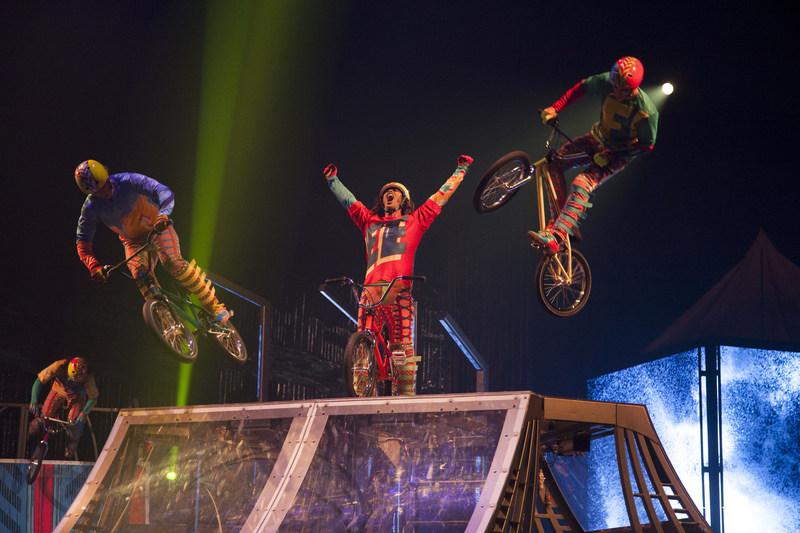 Volta BMX (Groupe CNW/Cirque du Soleil Canada inc.)