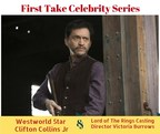 First Take Celebrity Series: Westworld Star Clifton Collins Jr & Lord of the Rings Casting Director Victoria Burrows!