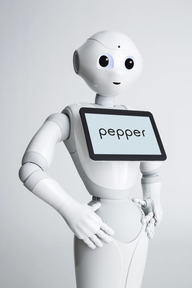 SoftBank Robotic's humanoid robot, Pepper