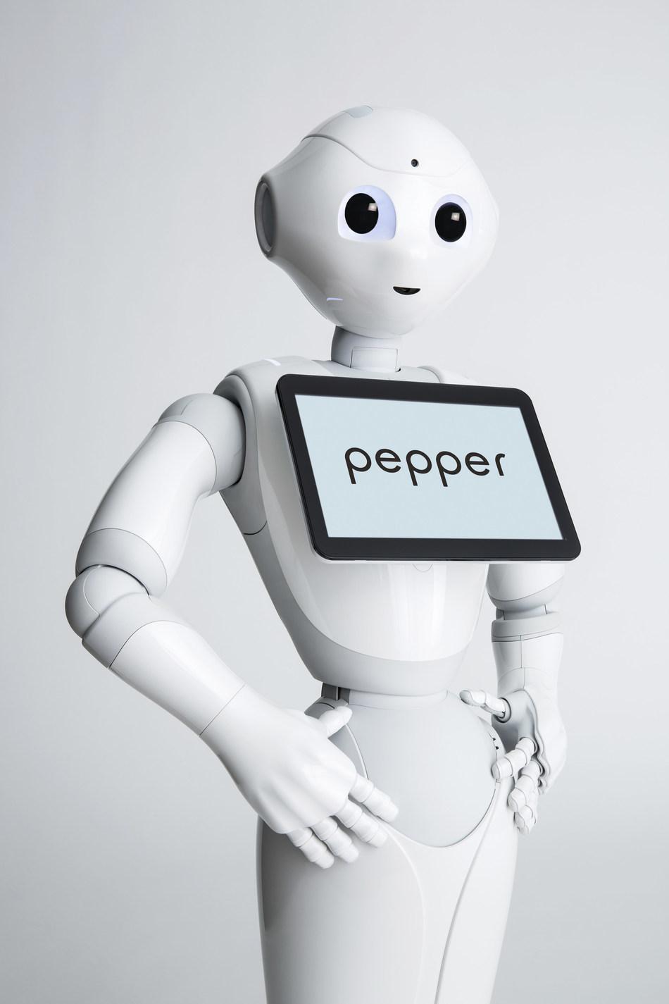 SoftBank Robotic's humanoid robot, Pepper