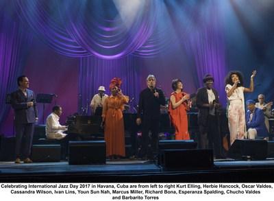 TMIJ/UNESCO, Journée internationale du jazz 2017, dimanche 30 avril (PRNewsfoto/Thelonious Monk Institute...)