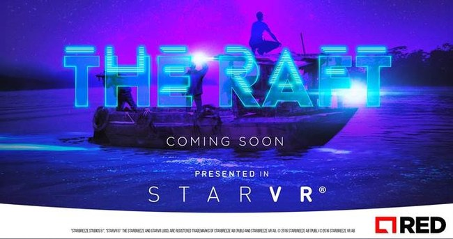Starbreeze and RED Games, a division of RED Interactive Agency, have partnered to create THE RAFT, a first-ever cooperative game experience for StarVR Virtual Reality HMD.