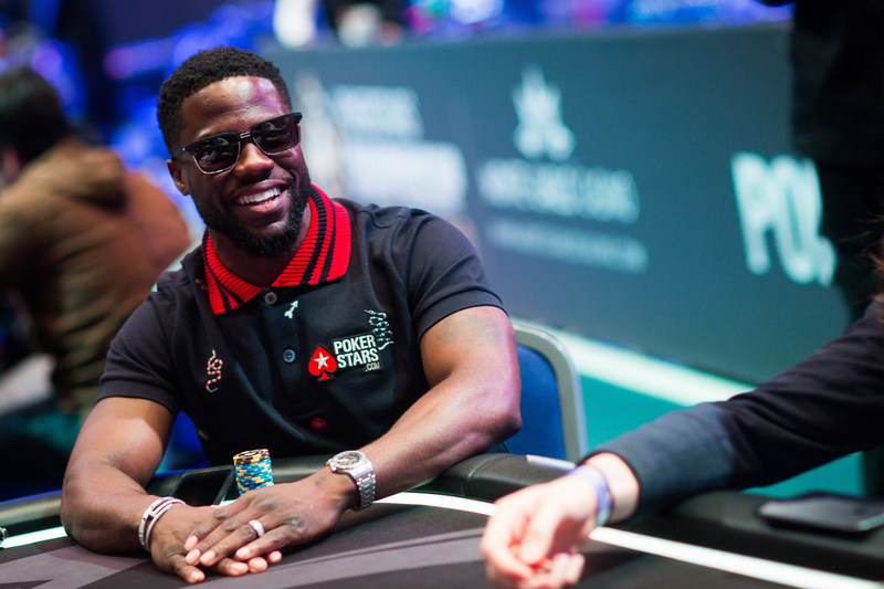 Kevin Hart Announces Partnership With PokerStars at the PokerStars Championship in Monte Carlo
