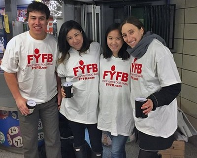 Bay St. law firms will be collecting donations for Fort York Food Bank during the morning rush hour on Thursday, May 4 at downtown TTC subway stations. (CNW Group/Fort York Food Bank)