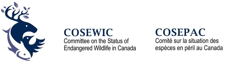 Logo: Committee on the Status of Endangered Wildlife in Canada (COSEWIC) (CNW Group/Committee on the Status of Endangered Wildlife in Canada)