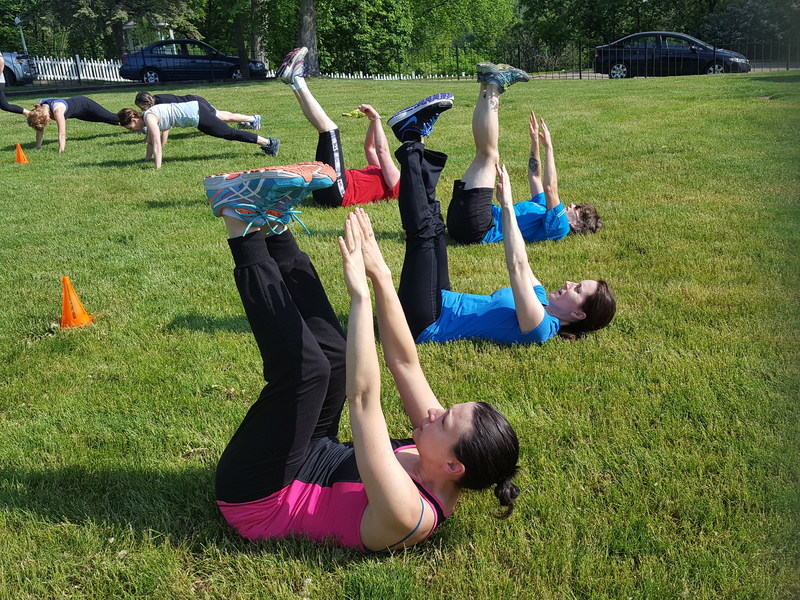 Hundreds of Anytime Fitness gyms are hosting free workouts in local parks throughout the month of May.