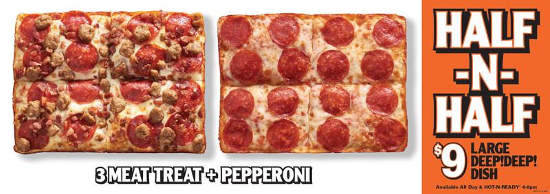HALF-N-HALF Pizza