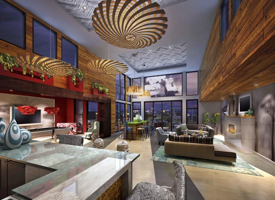 Ann Arbor City Club Apartments, Skyclub