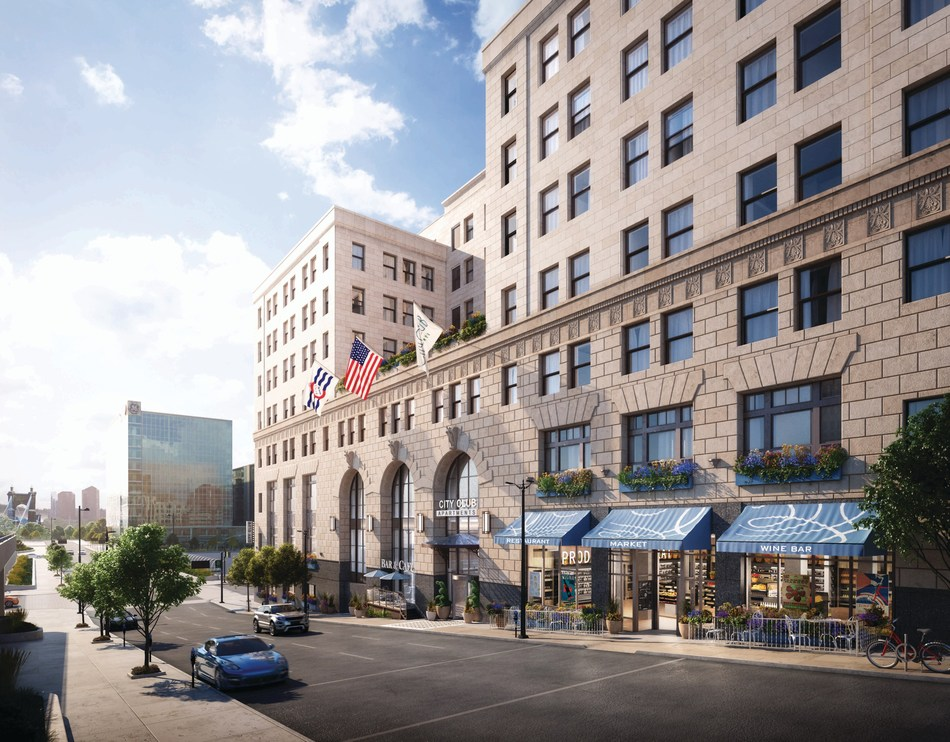 City Club Apartments, CBD Cincinnati