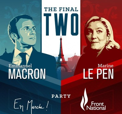 The French Election: The Final Two (PRNewsfoto/Swissquote)