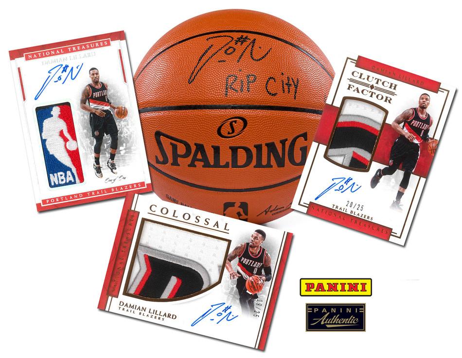 Panini America Inks Exclusive Trading Card, Autograph Deal with Portland Trail Blazers Star Damian Lillard