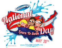 SwimWays' National Learn to Swim Day - Saturday, May 20, 2017 (CNW Group/Swimways Corp.)