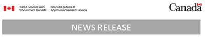 PSPC - News Release (CNW Group/Public Works & Government Services Canada)