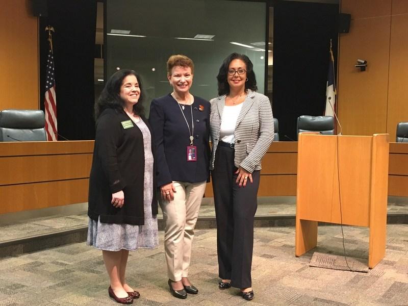 Congratulations to NCCDP's 2017 Educator of the Year: Ivette Rivera-Ortiz!  CEO, Sandra Stimson, and COO, Lynn Biot Gordon awarded Rivera-Ortiz this prestigious honor in Austin, TX on 5/1/17.