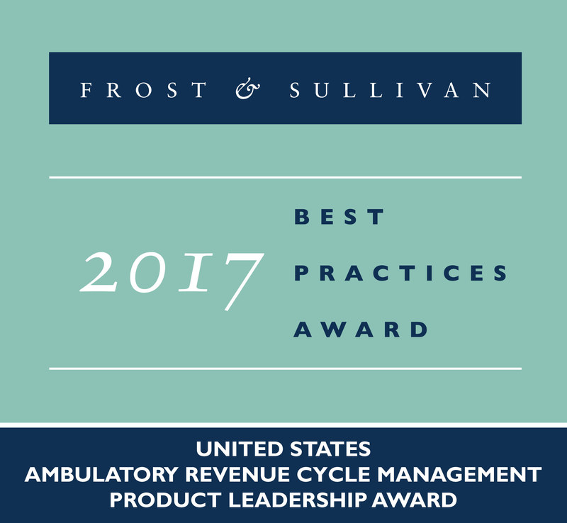 Frost & Sullivan recognizes Aprima® Medical Software, Inc. with the 2017 United States Product Leadership Award.