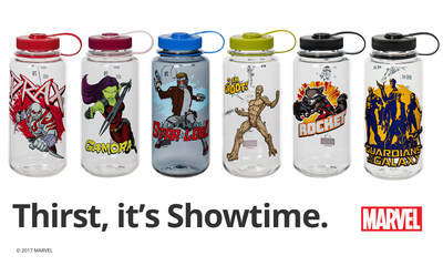 Nalgene Outdoor Unveils New Marvel' Universe-Inspired Bottles for the Guardians of the Galaxy