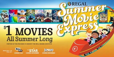 Regal Entertainment Group Announces $1 Movies for 2017 Summer Movie Express