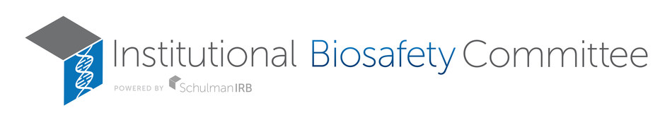 Institutional Biosafety Committee powered by Schulman IRB