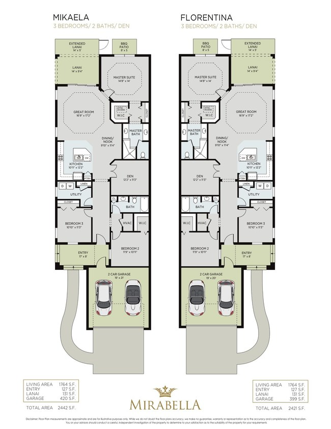 Award winning mirabella adds new three bedroom florentina for Leed certified house plans