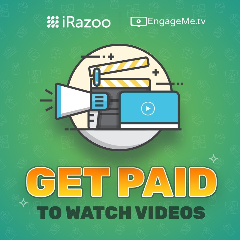 Watch videos and get paid.