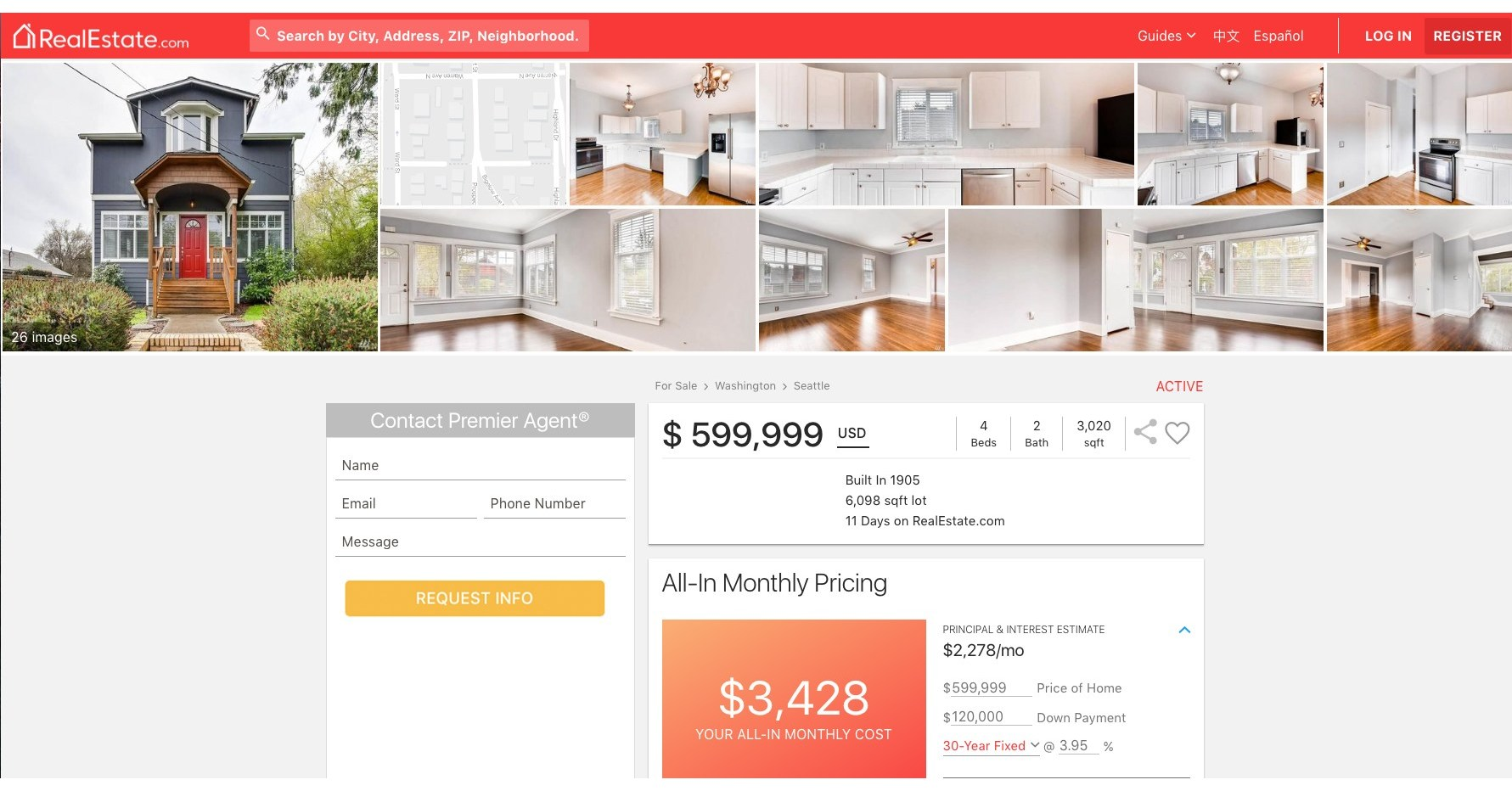 100 Zillow Real Estate Apartments Mortgages