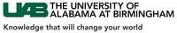 University of Alabama at Birmingham and UAB Medicine logo