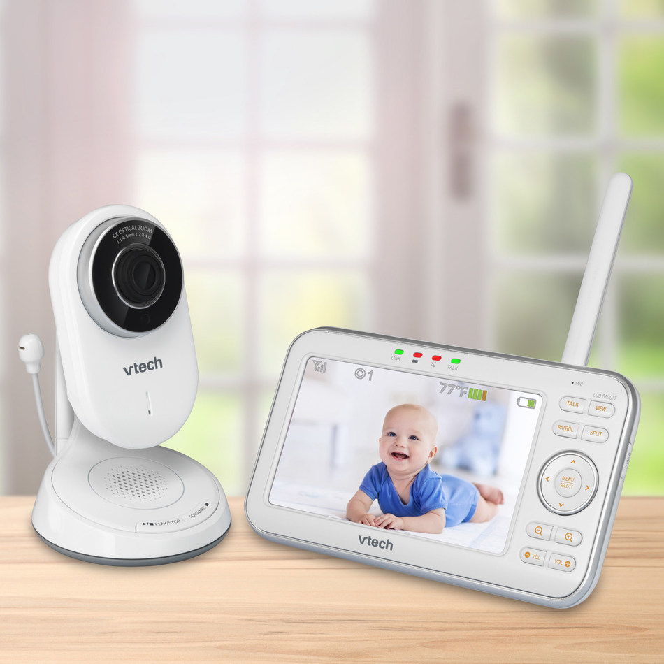 VTech VM5271 Video Monitor with Motorized Lenses and 6x Optical Zoom
