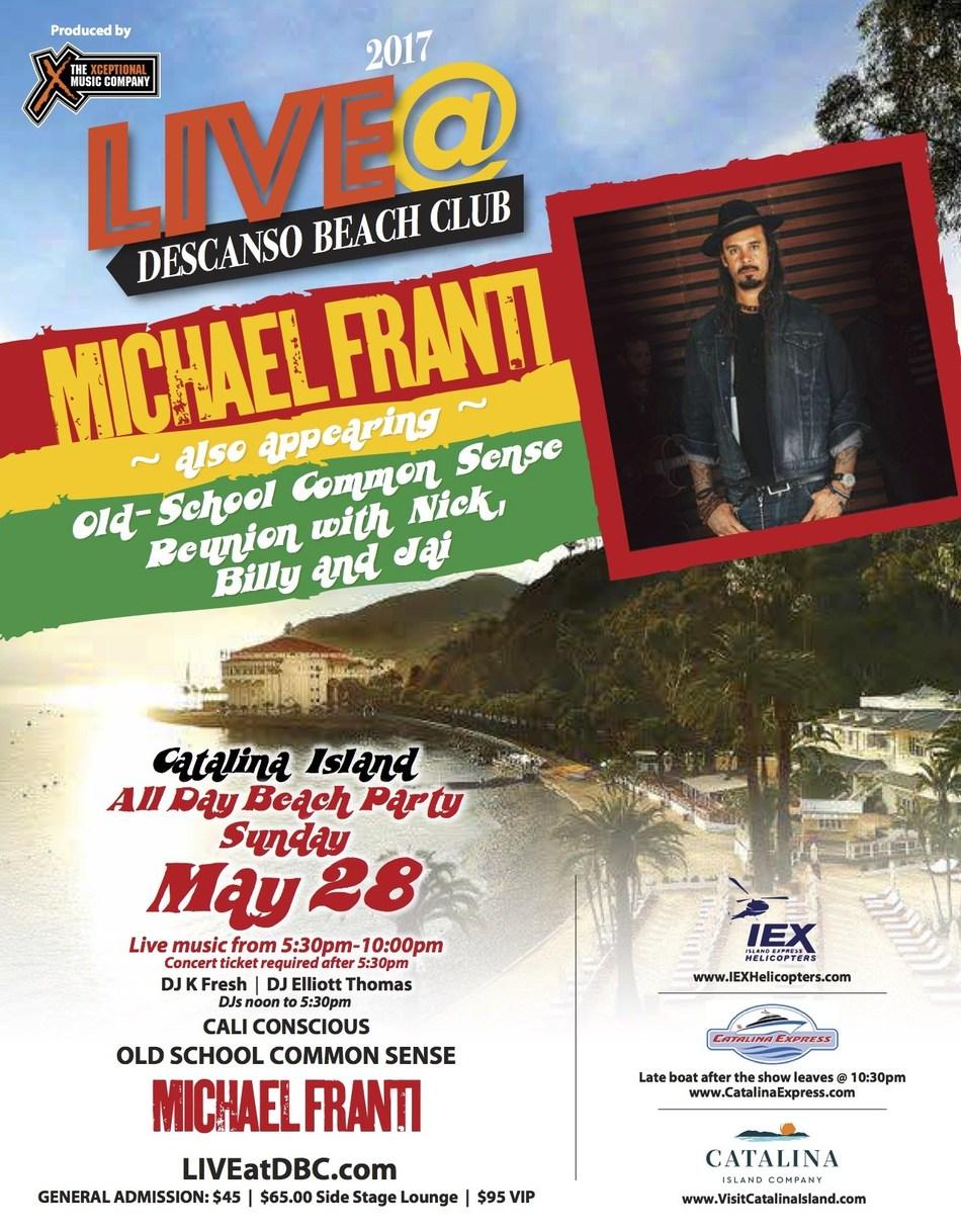 Michael Franti Concert on Catalina Island