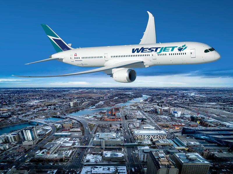 WestJet to purchase Boeing 787-9 Dreamliners (CNW Group/WestJet)