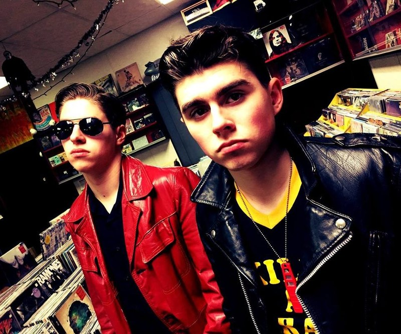 Cullen and Emmett O'Conner from Archie and the Bunkers (PRNewsfoto/Dirty Water Records)