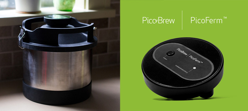 PicoBrew introduces PicoFerm, the world's smartest web-connected fermentation monitor. If the Pico Model C Kickstarter campaign reaches $1.812M in funding, all backers who pledge at least $250 will receive a PicoFerm for free.