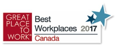 For the 4th consecutive year, IndustryBuilt has been selected as a Great Place to Work, placing 32nd in the Medium sized business category. (CNW Group/IndustryBuilt Software)