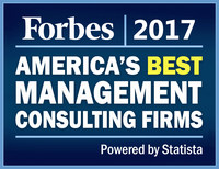 CapTech is honored to be included in the Forbes 2017 America's Best Management Consulting Firms ranking.