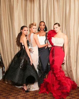 Sasha Lane, Stella Maxwell, Jourdan Dunn, Ashley Graham in H&M
