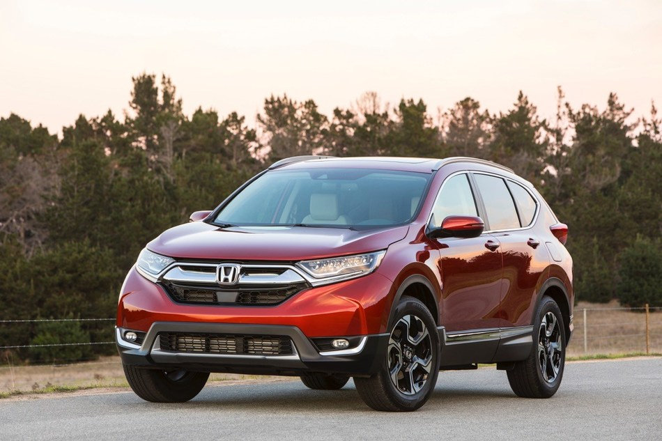 The Honda CR-V led the brand's truck gains with an April record of 32,671 vehicles, up 13 percent.