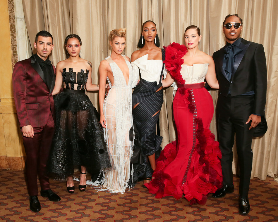 Joe Jonas, Sasha Lane, Stella Maxwell, Jourdan Dunn, Ashley Graham, Future in H&M