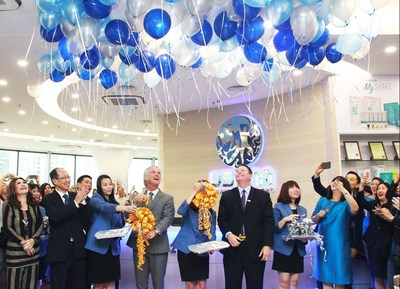 Grand opening of the new USANA office in Malaysia.