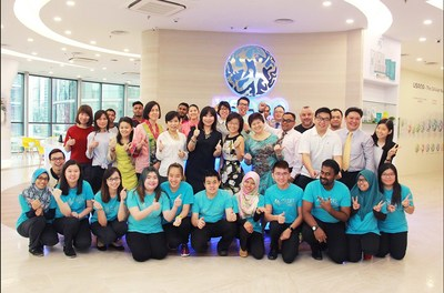 The USANA Malaysia team at the new office.