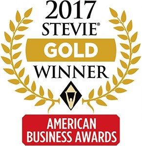 2017 Stevie Gold Winner - American Business Awards