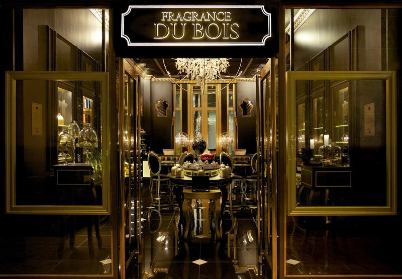 One of Fragrance Du Bois' beautifully appointed boutiques. (PRNewsfoto/Fragrance Du Bois)