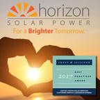 Horizon Solar Power Receives 2017 Frost & Sullivan Customer Service Leadership Award
