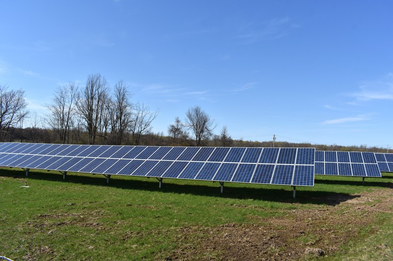 United Renewable Energy LLC Completes First Community Solar Project with National Grid in New York. Photograph courtesy of Ben Foster.